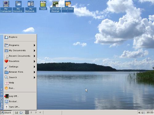 ReactOS: sistema operativo gratuito compatible con Windows