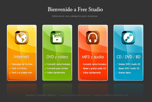 Free studio: programa gratuito para edición de audio y video