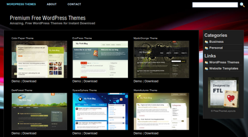 Free Theme Layouts: descarga gratis themes premium para wordpress ...